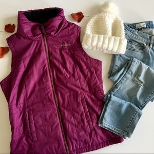 Columbia Quilted Puff Vest